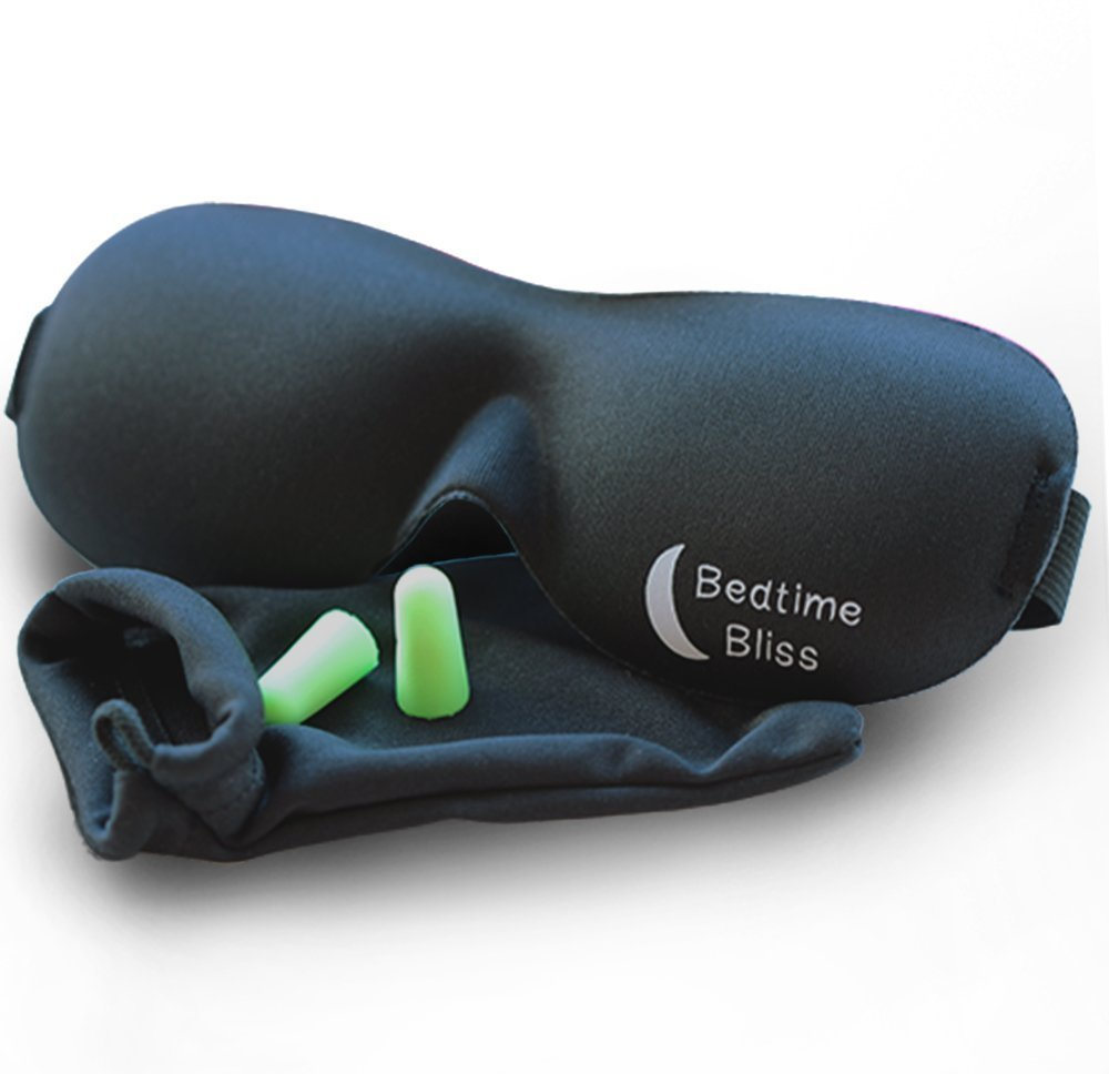 Get good sleep at a conference with a sleep mask and ear plugs! Download a full checklist of everything you need for a blogger conference at thrivecreativeevents.com!